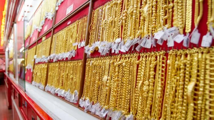 ทองในร้าน